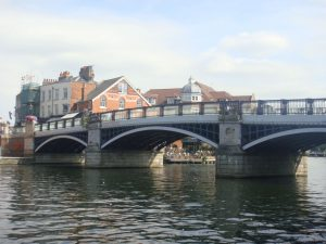 This was the photo at Windsor bridge in UK, 2019