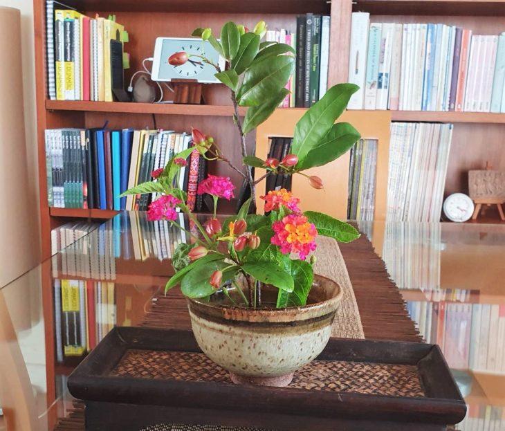 ภาพดอกไม้จากแจกันโปรด